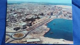 CPSM AERIAL VIEW OF MANAMA BARHREIN 1980 ED AL HILAL TIMBRE AVION CONCORDE VOIR SCAN DOS - Bahrein