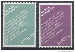 Irlande 1979  Mi.nr.:395-396 Erste Direktwahlen Zum EU-Parlament  Neuf Sans Charniere /MNH / Postfris - 1949-... Republic Of Ireland