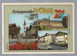 AT.- Ferienparadies WÖRGL. Old Cars. - Gruss Aus.../ Gruesse Aus...