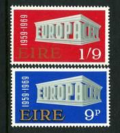 Ireland 1969. Michel #230/31 MNH/Luxe. Europa-CEPT - 1949-... Republic Of Ireland