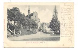 0-8291 PANSCHWITZ - KUCKAU, Kloster St. Marienstern, 1902, Präge-Karte, Embossed, Relief - Panschwitz-Kuckau