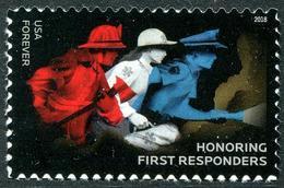 USA (2018) - Set -  /  Firefighter - Police - Policia - Bombero - Police - Gendarmerie