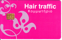GREECE - Hair Traffic Coiffure, Member Card, Unused - Autres Collections