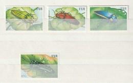 Fiji - 2000 Beetles 4v Mint - Fiji (1970-...)
