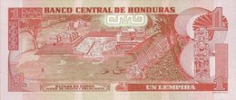 HONDURAS P.  89b 1 L 2010 UNC (2 Billets) - Honduras