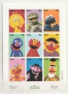 Fiji - 2000 Sesame Street, Children's Television Programme 9v M/s Mint - Fiji (1970-...)