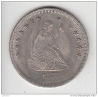 USA 1872 ONE DOLLAR Replica (?) Read Description  #19926 - 1840-1873: Seated Liberty (Liberté Assise)