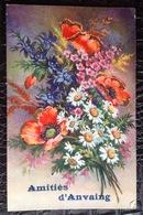 JFC. 298. Amitiés D'Anvaing. Bouquet De Fleurs - Frasnes-lez-Anvaing