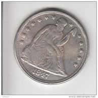 USA 1847 ONE DOLLAR Replica (?) Read Description  #19925 - Émissions Fédérales