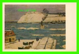 QUÉBEC - JAMES WILSON MORRICE (1865-1924) LE TRAVERSIER, QUÉBEC- LÉVIS - GALERIE NATIONALE - - Québec - La Cité