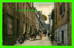 QUÉBEC - LITTLE CHAMPLAIN STREET & BREAK-NECK STEPS - ANIMATED - THE VALENTINE & SONS PUB. CO LTD - - Québec - La Cité