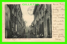 QUÉBEC - LITTLE CHAMPLAIN STREET - TRAVEL IN 1905 - ANIMATED - ILLUSTRATED POST CARD CO - - Québec - La Cité