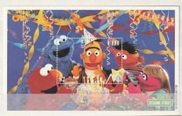 Fiji - 2000 Sesame Street, Children's Television Programme 2v M/s Mint - Fiji (1970-...)