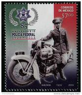 Mexico (2013) - Set -  /  Polizei - Police - Policia - Moto - Motorbike - Politie En Rijkswacht