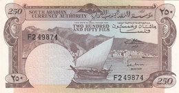 YEMEN YDR 250 FILS 1965 P-1a UNC */* - Yemen