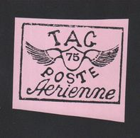 Reproduction Guyane Poste Aérienne N° 9 Rose - Sonstige