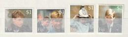Fiji - 2000 The 18th Anniversary Of The Birth Of Prince William 4v Mint - Fiji (1970-...)