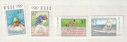 Fiji - 2000 Olympic Games - Sydney, Australia 4v Mint - Fiji (1970-...)