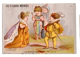 Rare Chromo Imp. BOGNARD 3-75, Photographie Vulgarisée, Au Grand Monge, La Biche Au Bois, Reine - Chromo