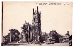 3171 - Québec ( Canada ) - Montréal - Eglise Saint-Georges - N.D. Ph. - N°8 - - Montreal