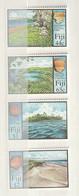 Fiji - 2000 Lapita Pottery - Showing Excavation Sites And Pottery Fragments 4v Mint - Fiji (1970-...)