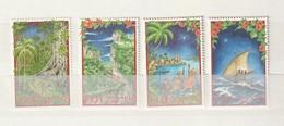 Fiji - 2000 Christmas- Journey Of The Three Kings In Fijian Setting 4v Mint - Fiji (1970-...)