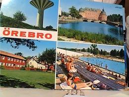 Sweden - Orebro - Svampen - Water Tower VUES  STAMP TIMBRE  SELO 1 Kr GX5631 - Svezia
