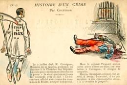 HISTOIRE D UN CRIME   PAR COUTURIER    N° 1 - Satiriques