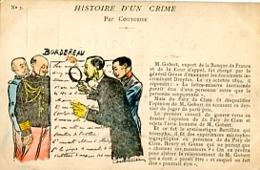 HISTOIRE D UN CRIME   PAR COUTURIER    N° 3 - Satiriques
