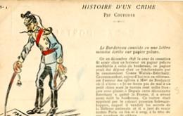 HISTOIRE D UN CRIME   PAR COUTURIER    N° 4 - Satiriques