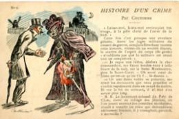 HISTOIRE D UN CRIME   PAR COUTURIER    N°  6 - Satiriques