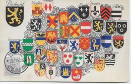 CPA - Belgique - Armoiries Des Provinces Belges.BLASON - BELGIQUE. - Belgique