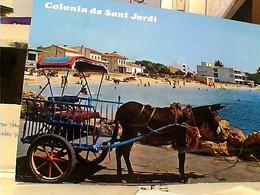 ESPANA MALLORCA COLONIA SANT JORDI Asino BURRO   STAMP TIMBRE  SELO 5 Ptas Casa Colon Las Palmas GX5632 - Mallorca