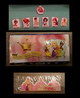 Coffret Collector 7 Feves Disney Pasquier Les 7 Princesses Disney Avec Sa Couronne - Disney