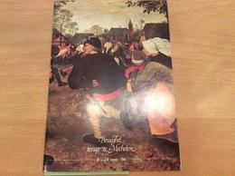 Brueghel Terug Te Mechelen 1986 - Programmes