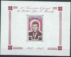 Dahomey YT Bloc 22 XX / MNH Kennedy - Bénin – Dahomey (1960-...)