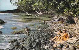 Polynésie Française  La Plage à TIARE Beach (vahinés)   (Sounam Tahiti C 27225 Tahiti) BV *PRIX FIXE - Polynésie Française
