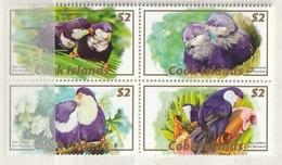 Cook Islands 2007 Set Of 20 Wildlife BLK [5] UM - Cook Islands