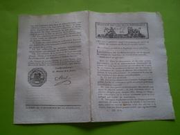 Lois An VIII: Nomination Des Maires & Adjoints Des Communes De Moins De 5000 Habitants. Conservation Collection Des Lois - Decrees & Laws