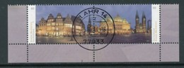GERMANY Mi.Nr. 3083-3084 Bremer Marktplatz - Eckrand Unten Rechts - Used - Used Stamps