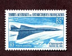 TAAF PA N°19 N* TTB Cote 82 Euros  !!! - Poste Aérienne