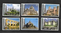 OA 8623 / NATIONS UNIES NEW YORK 2006 Yvert 993 à 998 / ** Patrimoine Mondial : France - New-York - Siège De L'ONU