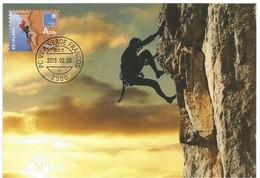 Postal Máximo Desporto Escalada - Sport  Extreme Sports Extrêmes Maxicard Maximum Climbing Escalade Intensificazione - Escalada