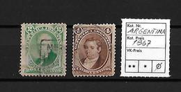 1867 Republica Argentina → 2 Centavos & 4 Centavos     ►RRR◄ - Argentine