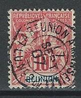 Réunion Yv. 46, Mi 46 Obl. Réunion à Marseille - Used Stamps