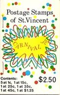 ST VINCENT, 1975, Booklet 3, Carnival - St.Vincent (...-1979)