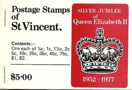 ST VINCENT, 1977, Booklet 5, Silver Jubilee - St.Vincent (...-1979)