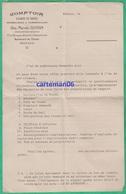 Papier à Entête - Monaco - Comptoir D'achats Et Ventes Immobilières & Commerciales Alex-Marcelin Goiran - Fatture & Documenti Commerciali