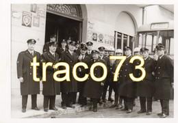 AGRIGENTO _ 1966  /  Vigili Urbani In Posa _  Foto Formato Cartolina 10,5 X 15 Cm _ Edizione Privata - Agrigento