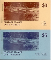 ST VINCENT, 1979, Booklet 8/9, $3 And $5 - St.Vincent (...-1979)